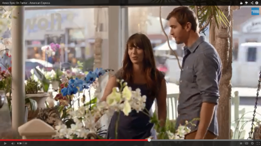 AMEX commercial still 2